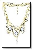 Blue Topaz Cecelia Necklace