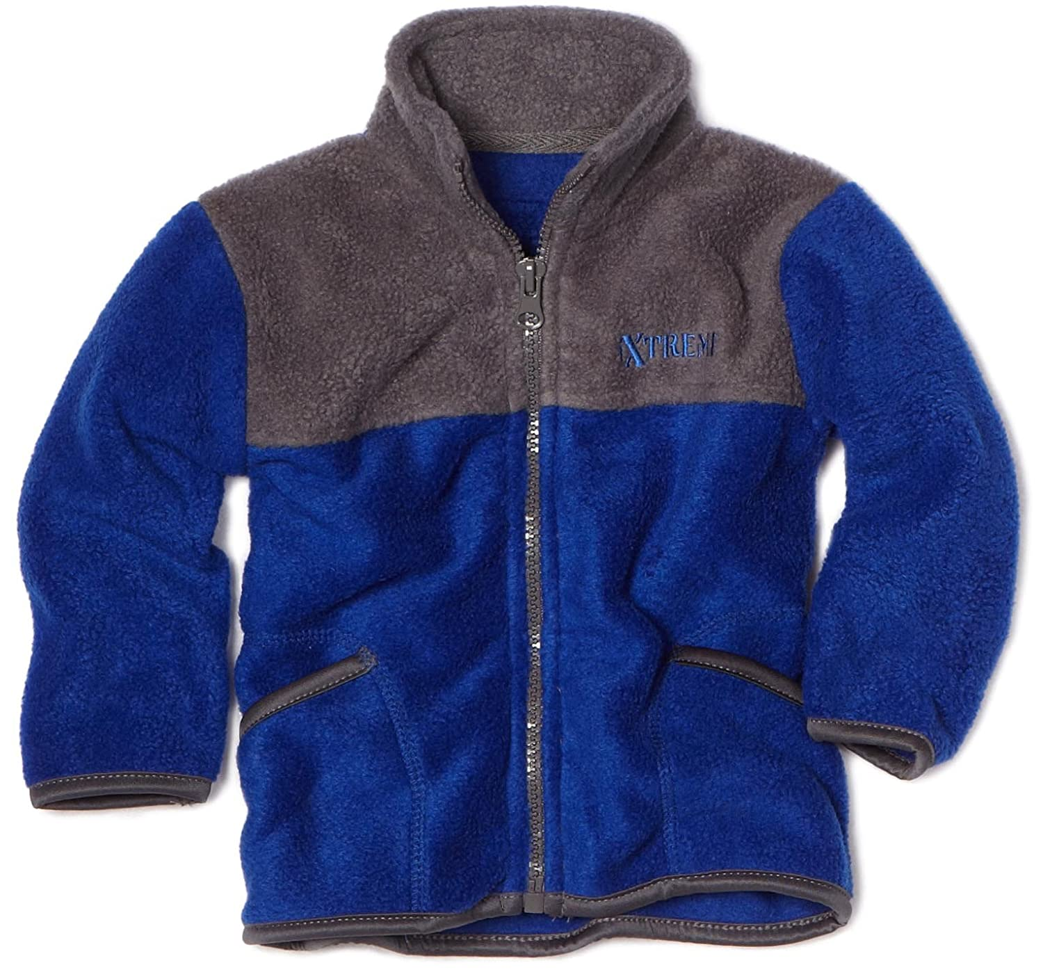 IXtreme Baby-Boys Infant Colorblock Fleece Jacket $6.13