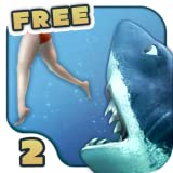 817JJ8MWA6L. SL160  free games: Hungry Shark 2 Free