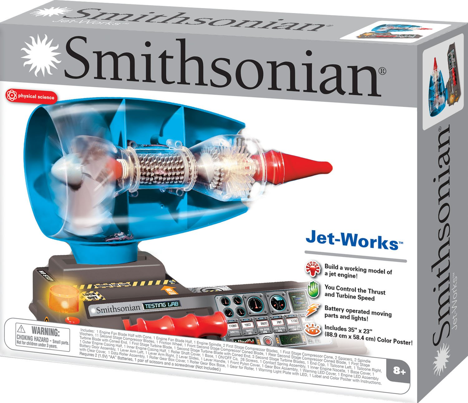 buy smithsonian jet works working jet engine model online at low prices in india amazonin