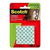 Scotch 599038997258 3M 311DC Heavy Duty 1-Inch Mounting, 48-Squares, 1 Set), White (Color: White, Tamaño: 1 Set (48 Squares ))