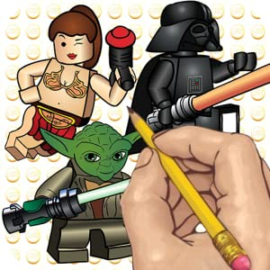How to Draw: Lego Star Wars Movie Characters from DrawMate