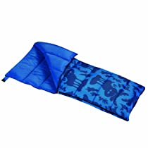 Wenzel Moose Boys 40-Degree Sleeping Bag Blue