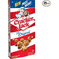 25-Pack Cracker Jack Original Caramel Coated Popcorn & Peanuts