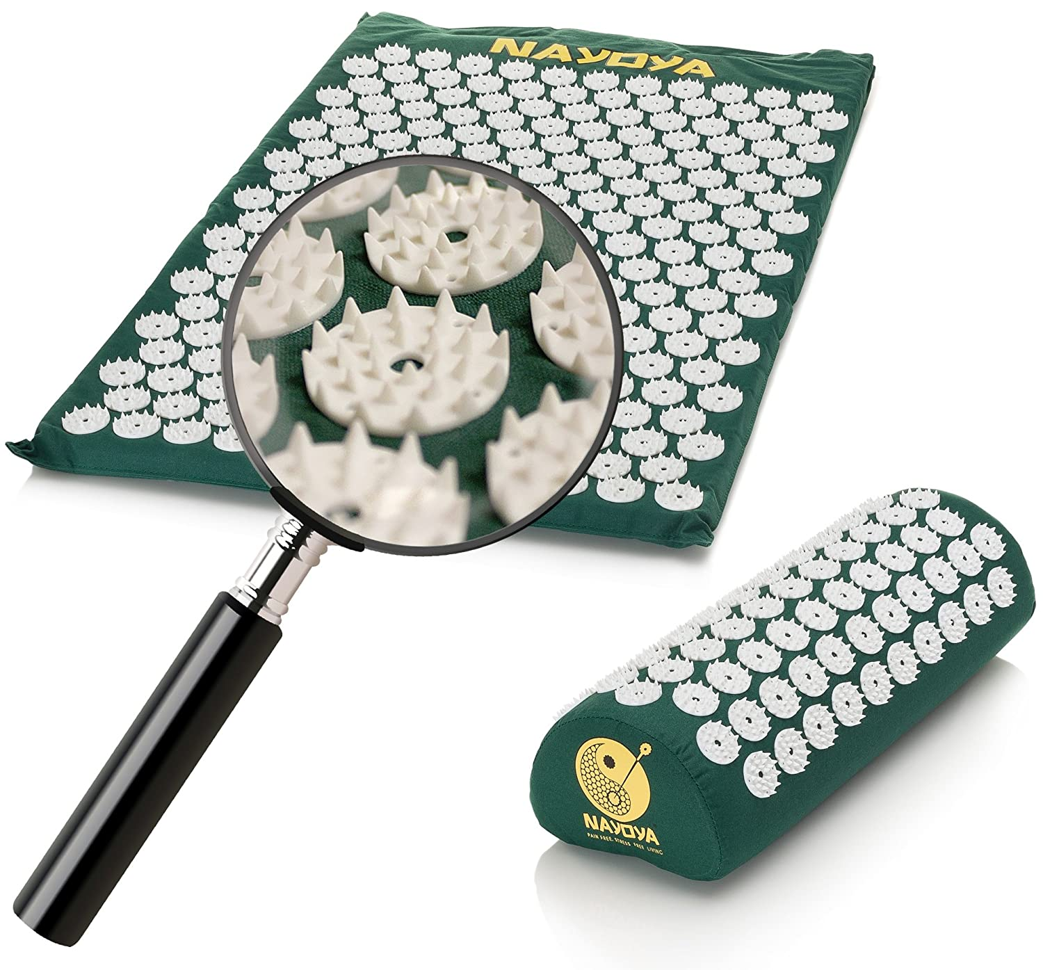 Colour therapy for sciatica - Buy Nayoya Wellness Best Back Pain Relief Acupressure Mat Pillow Set Online At Low Prices In India Amazon In