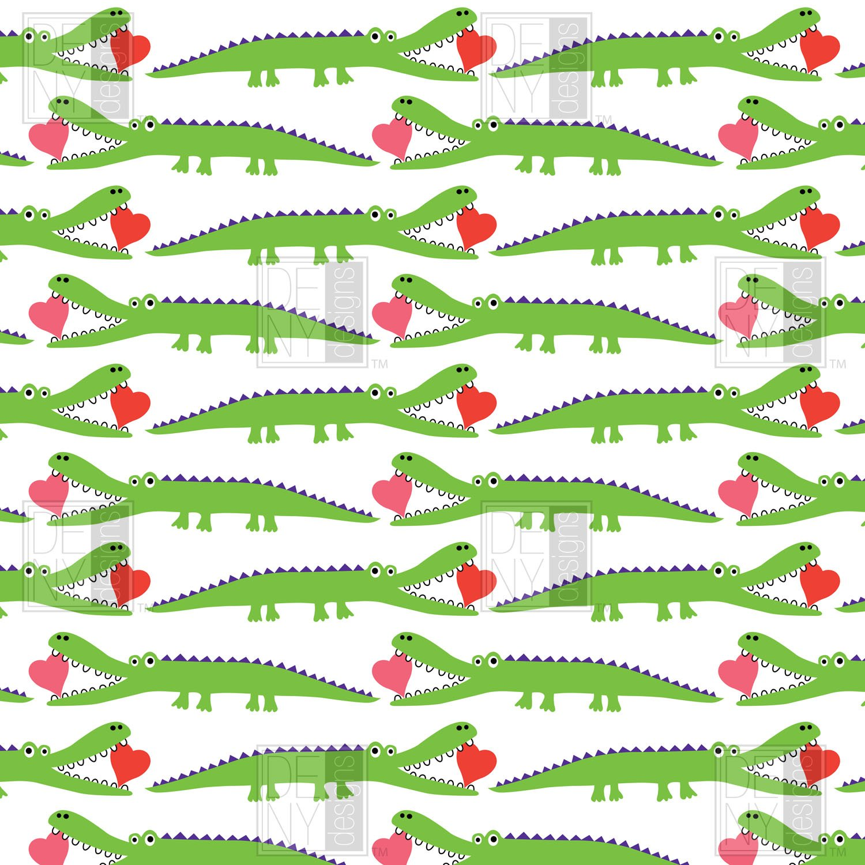 Andi Bird alligator duvet cover for teen bedroom