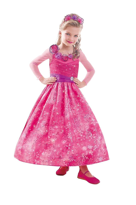 Amscan 997552 – Kinderkostüm Barbie und die geheime Tür Classic, circa 5 – 7 Jahre, Größe 116, pink günstig als Geschenk kaufen