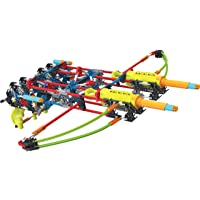 K'NEX K-Force Build and Blast Dual Cross 368-Pieces Building Set (Engineering Education Toy)