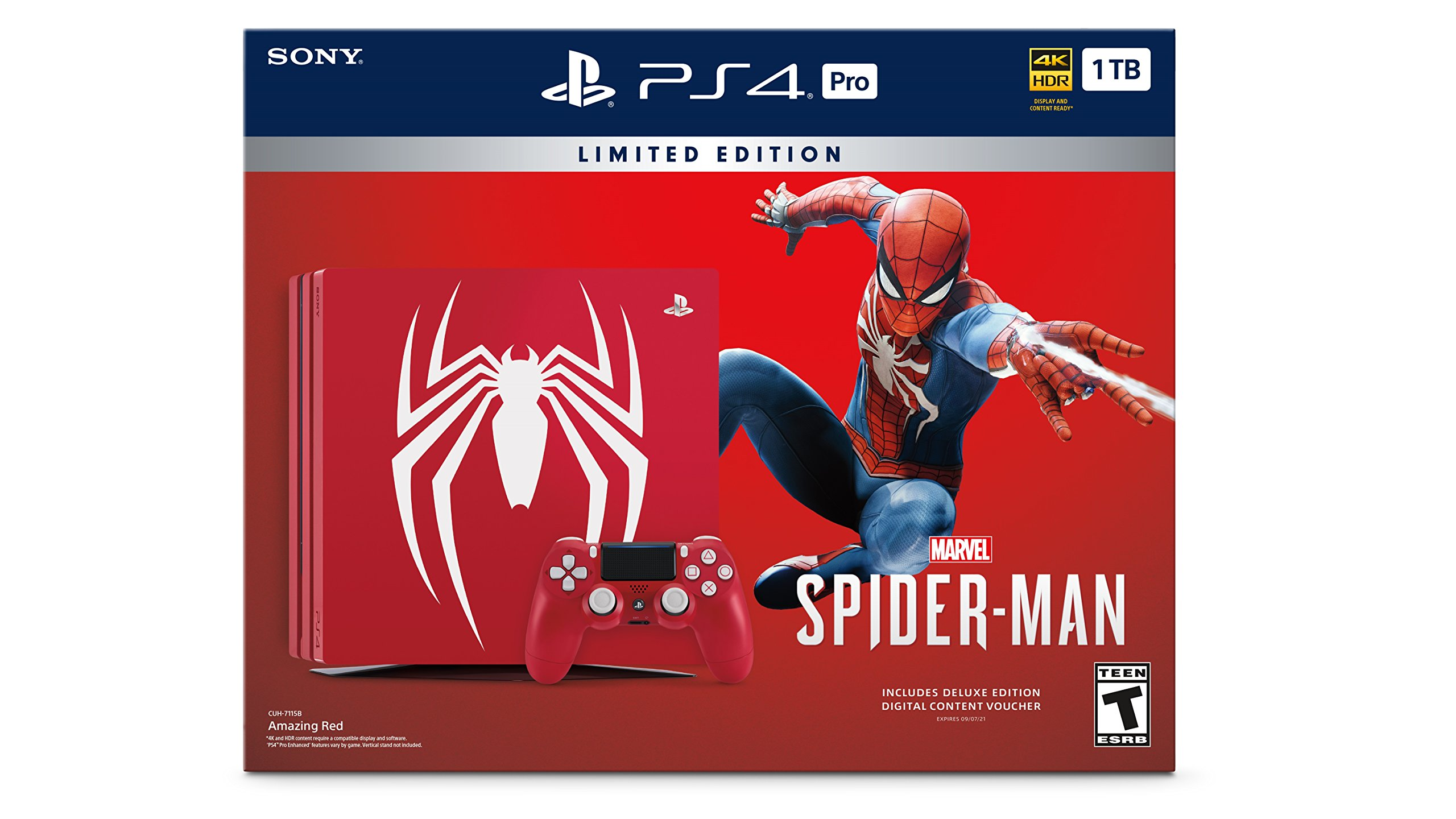 PS4 Spider Man Bundle