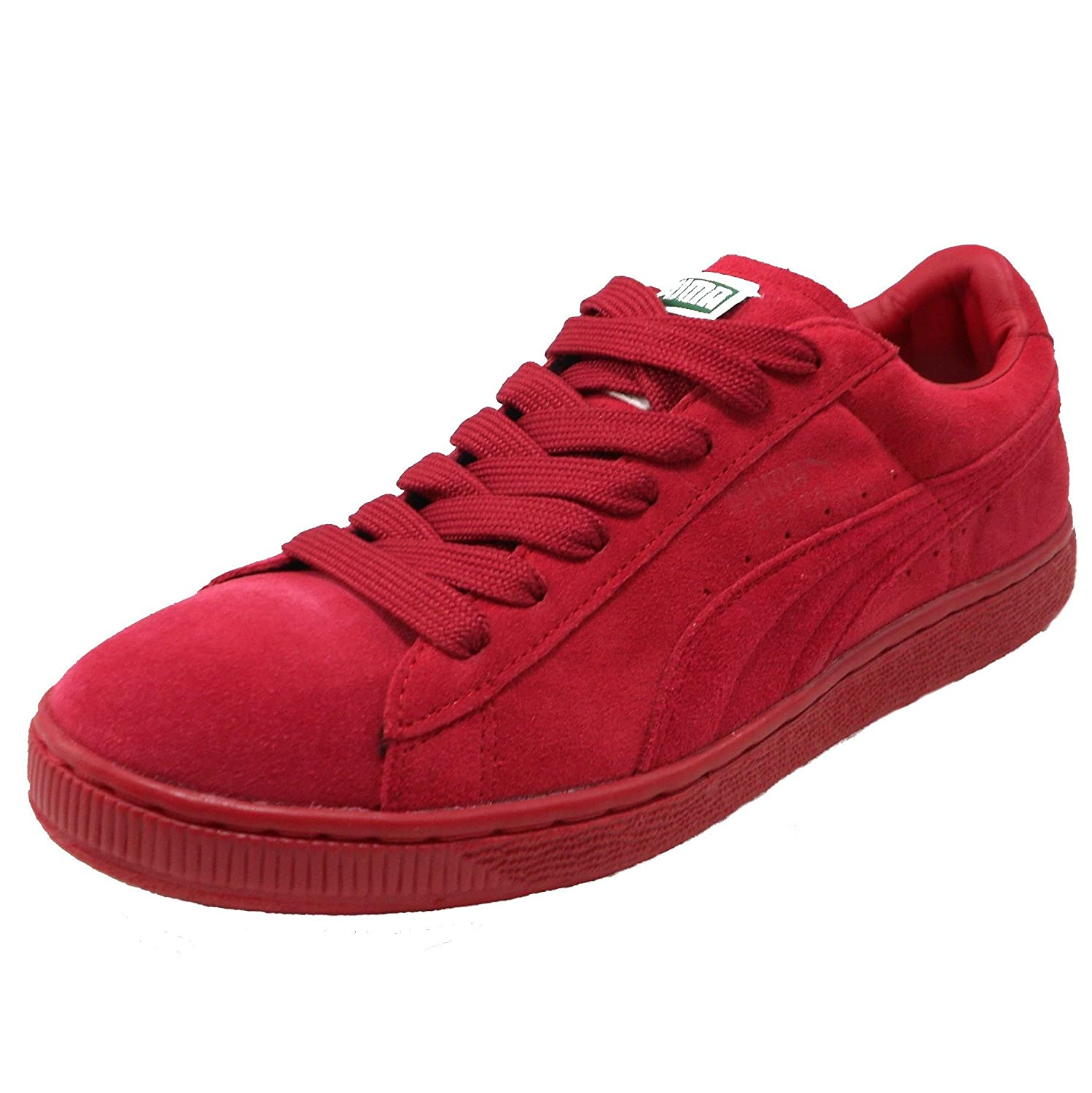 Puma Suede Jester Red On Jester Red
