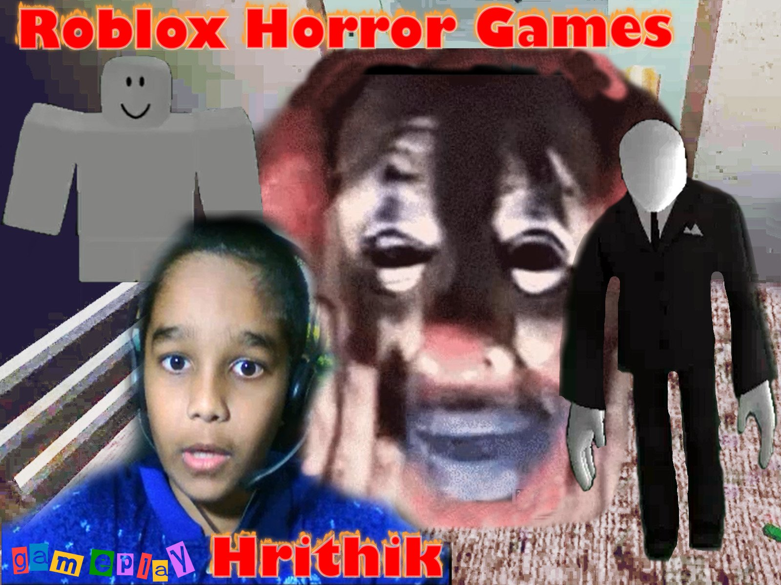 Clip: Roblox Horror Games - Gameplay Hrithik - Season 1