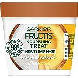 Garnier Fructis Nourishing Treat 1 Minute Hair Mask, 3.4 fl. oz.