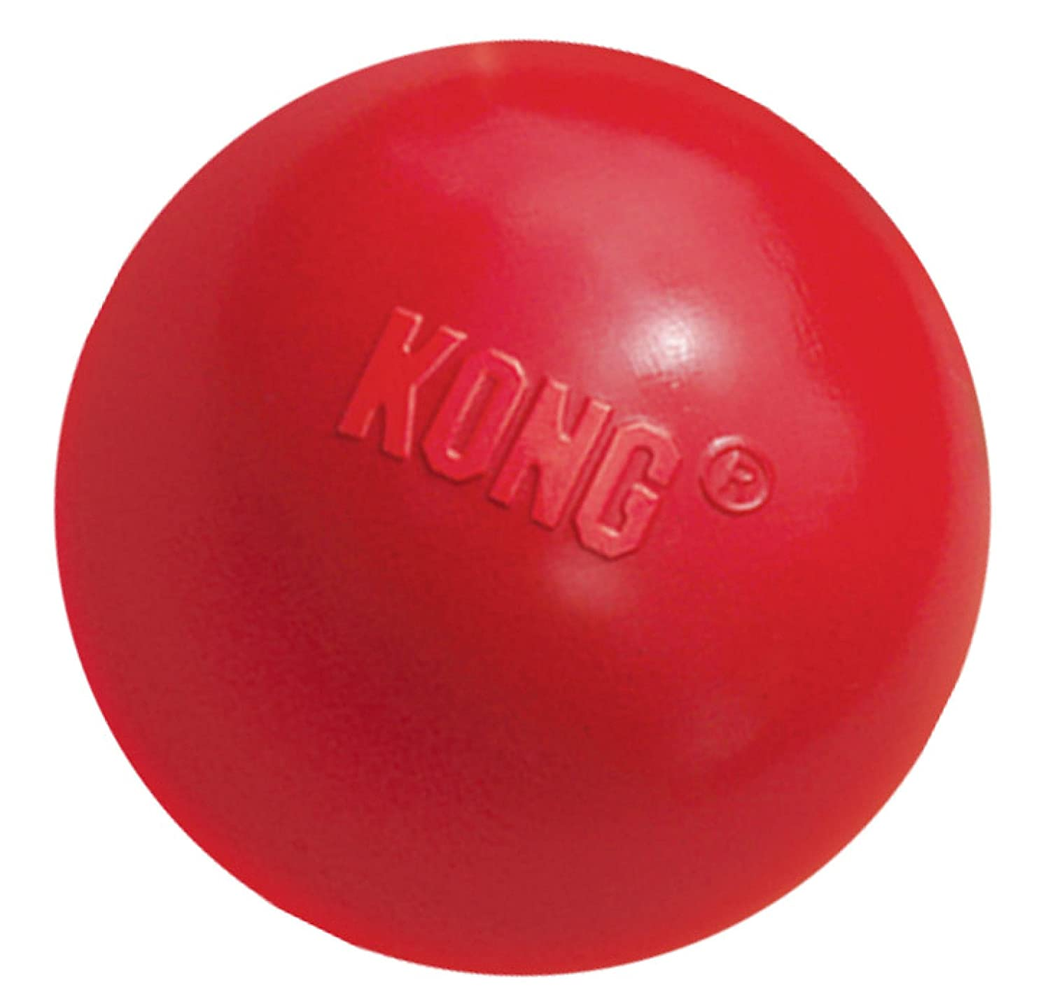 Kong Ball Dog Toy Medium Large Red
