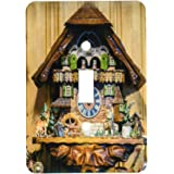 3dRose lsp_188522_1 Cuckoo Clock for Sale, Rothenburg, Germany Light Switch Cover
