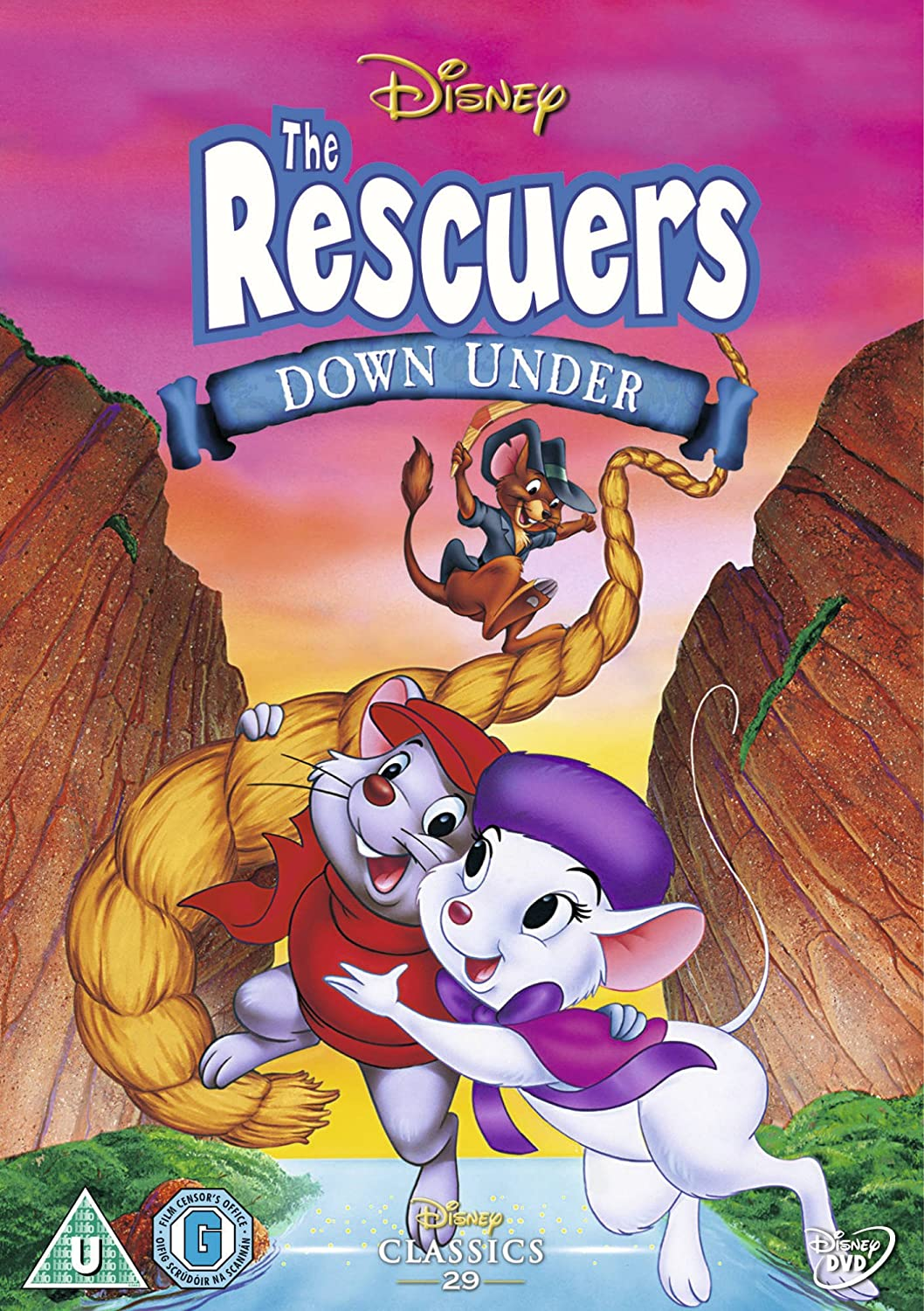 Rescuers Dvd The Rescuers Down Under Dvd