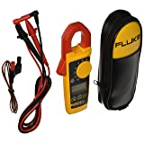 Fluke 325 40/400A AC/DC, 600V AC/DC TRMS Clamp Meter with Frequency, Temp, Capacitance Measurements with a NIST-Traceable Calibration Certificate with Data