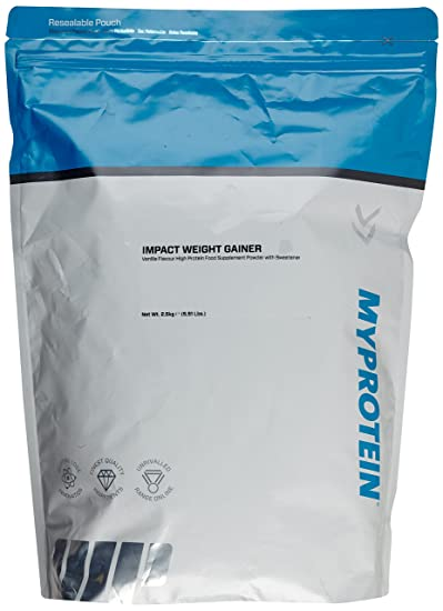 Myprotein Impact Weight Gainer Vanilla, 1er Pack (1 x 2.5 kg)