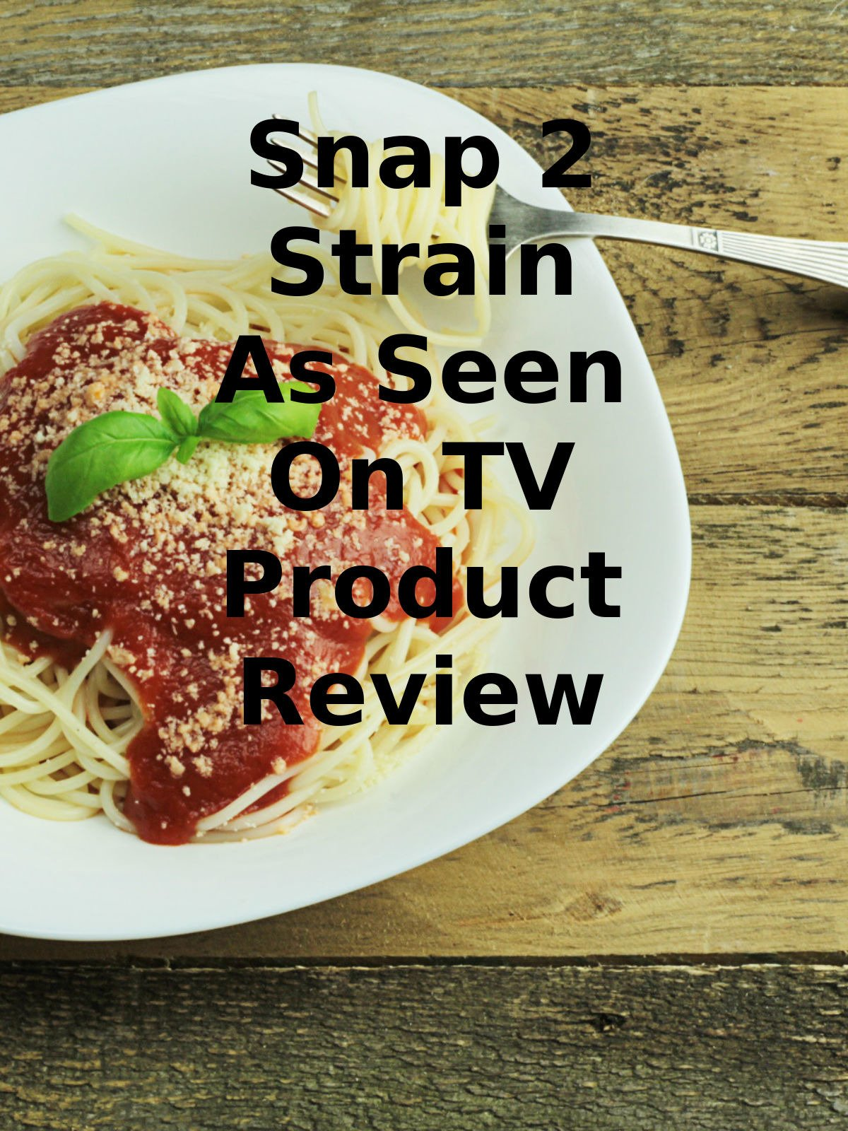 Review: Snap 2 Strain As Seen On TV Product Review on Amazon Prime Video UK
