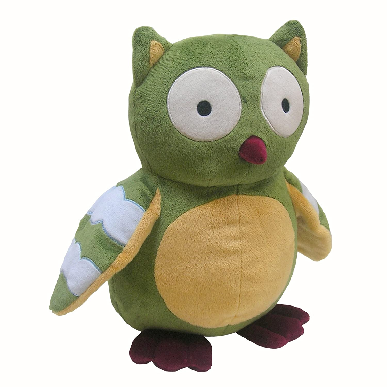Enchanted Forest Plush Owl, Green
