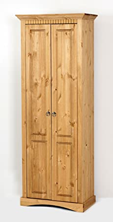Credenza massiccio pino lisciviato, armadio, armadio
