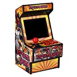Mini Arcade Game Machine RHAC02 2.8Inch 156 Classic Handheld Games Portable Machine for Kids with Eye-Protected Screen Golden Security (Color: Rhac02, Tamaño: small)