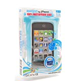 CLOSEOUT Dicapac WP-i10 Waterproof Case for iPhone 4 or 3G3GS - Blue OPEN BOX LIKE NEW (Color: Blue)