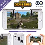 PUBG Mobile Game Controller, L1 R1 for PUBG, Fortnite, Knives Out, Rules of Survival, Joystick, Sensitive Shoot and Aim Buttons Triggers for Android and iPhone IOS [2018 Newest 5th GEN] - By ZEVO