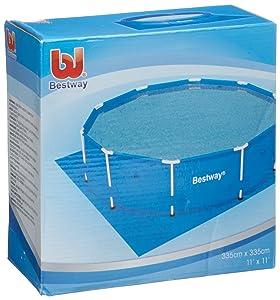 Bestway Ground Sheet - Piscina de natación Bestway 58001 Bodenfolien 335 x 335 cm für FastSet Pools 305   Comentarios y más información