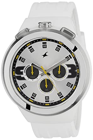 buy fastrack chronograph white dial men s watch 38002pp01 online fastrack chronograph white dial men s watch 38002pp01
