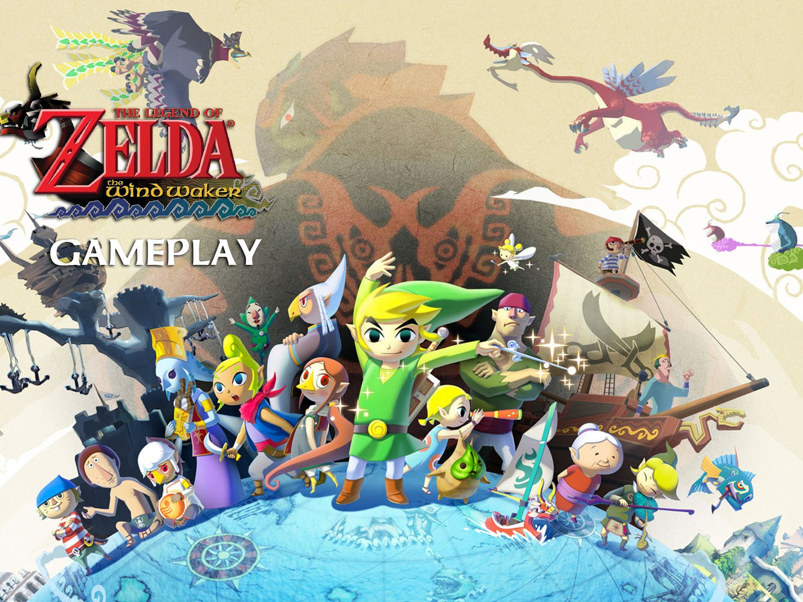 Clip: The Legend Of Zelda The Windwaker Gameplay