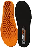 Timberland PRO Men's Anti Fatigue Technology Replacement Insole,Black/Orange,Large/10-11 M US