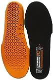 Timberland PRO Men's Anti Fatigue Technology Replacement Insole,Black/Orange,Large/10-11 M US