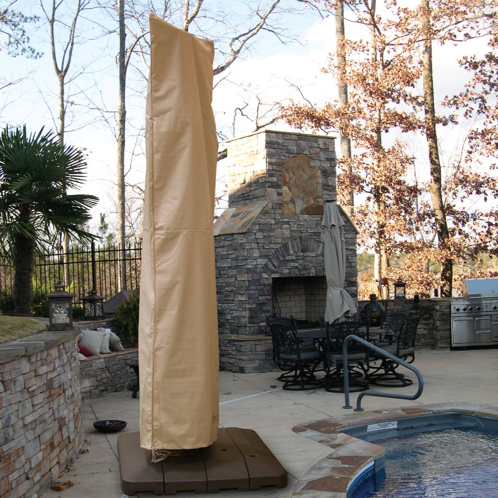 Hearth and Garden Large Offset Umbrella Cover