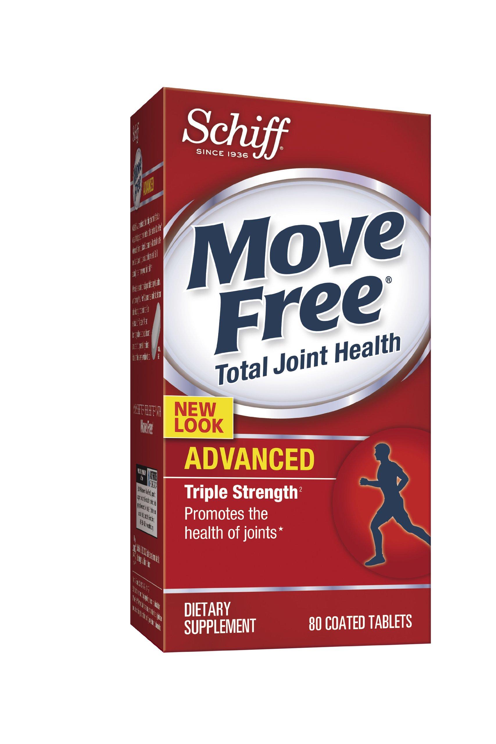 Schiff Move Free 美国直邮红瓶盒维骨力 80粒一瓶 一天两粒 四十天量 红瓶一站式海淘,海淘花专业海外代购网站--进口 海淘 正品 转运 价格