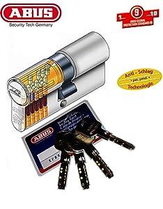 ABUS XP2S ProfilDoppelzylinder Länge 40/45mm mit 4 Schlüssel  BaumarktKundenbewertung und weitere Informationen