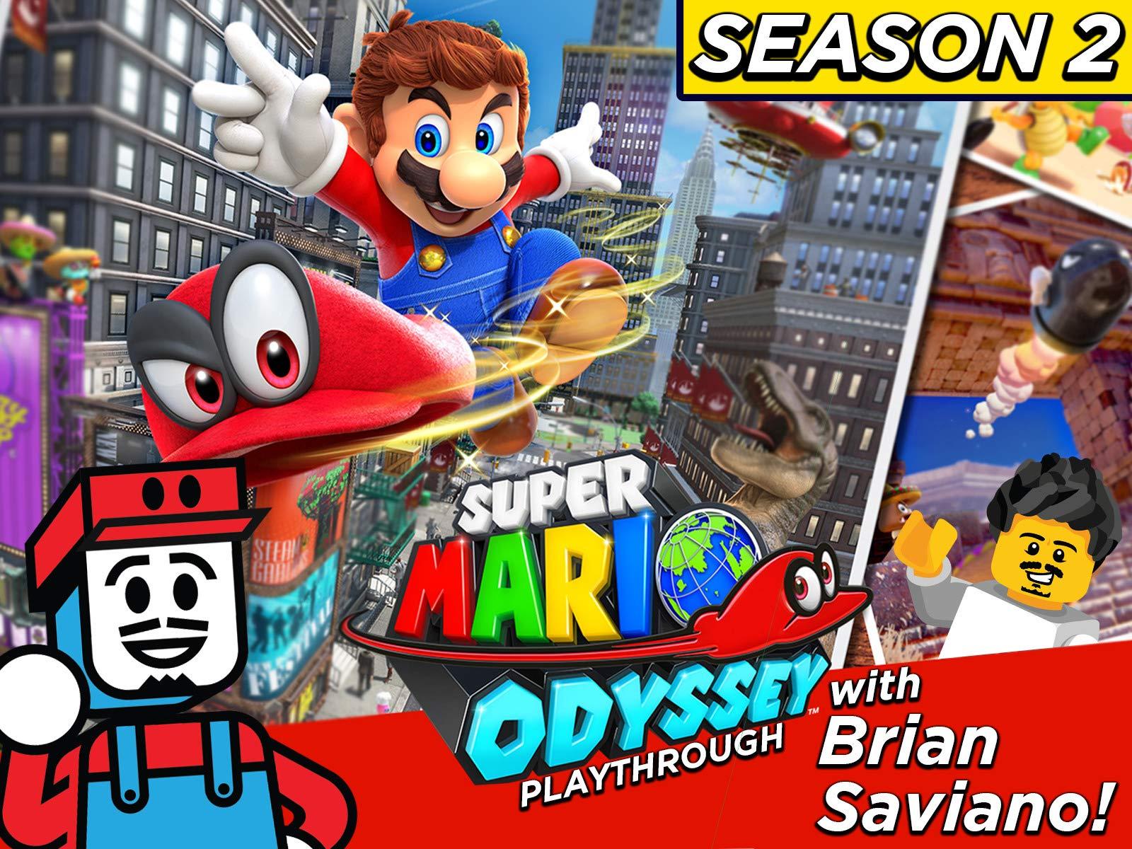Clip: Super Mario Odyssey Playthrough with Brian Saviano! - Season 2