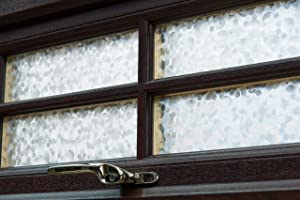 d-c-fix 346-0276 Self-Adhesive Privacy Glass Window Film, 17 x 78 Roll, Pearl (Color: Pearl, Tamaño: 17 x 78 Roll)