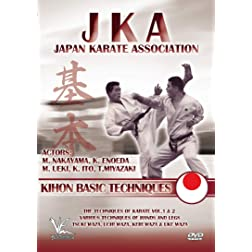JKA - Japan Karate Association: Kihon Basic Techniques
