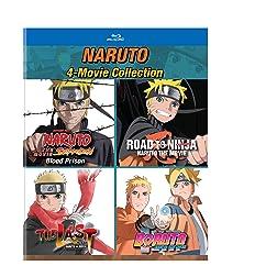Naruto: 4-Movie Collection [Blu-ray]