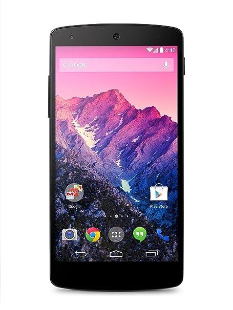 LG Nexus 5 Smartphone débloqué 4G (Ecran: 5 pouces - 16 Go - Android 4.4 KitKat) Noir