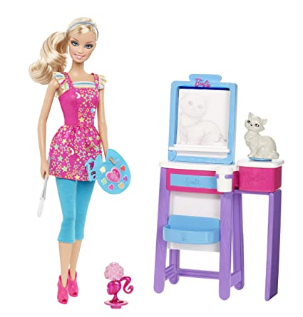 Barbie I Can Be Art Teacher Doll Playset