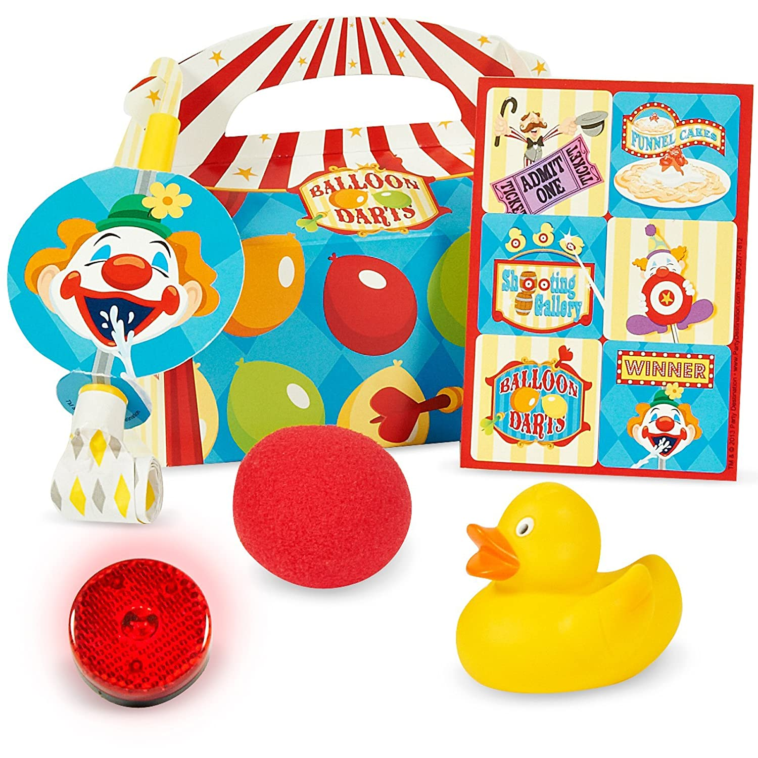 """LOT OF 50 RED FOAM CLOWN NOSE 2/"""" EACH WRAPPED CIRCUS COSTUME CARNIVAL GOODY BAG"""