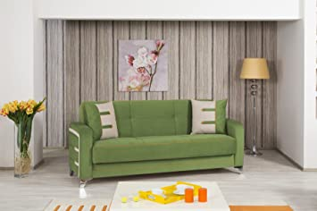 Decora Sofa Bed | Truva Green
