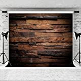 Kate 8x8ft Photography Backdrop Brown Wood 3D Backdrops for Picture Customized Microfiber Photo Background (Color: 173926, Tamaño: 8x8ft)