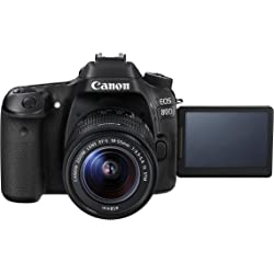Canon EOS 80D HD Digital SLR Camera with 18-55mm Lens - Black