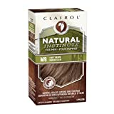 Clairol Natural Instincts Semi-Permanent Hair Color Kit For Men, 3 Pack, M9 Light Brown Color, Ammonia Free, Long Lasting for 28 Shampoos (Color: M9 Light Brown, Tamaño: Pack of 3)