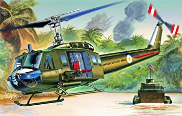 Italeri - I1247 - Maquette - Aviation - UH-1D Iroquois - Echelle 1:72