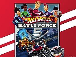 Hot Wheels Battle Force 5 Season 1
