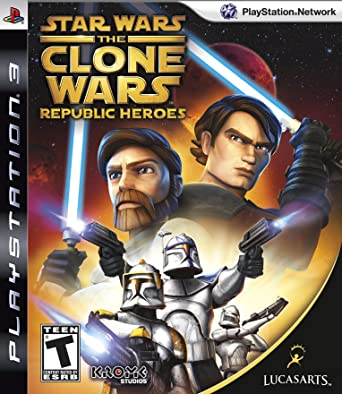 Star Wars - The Clone Wars - Republic Heroes[USA][ESPAÑOL]