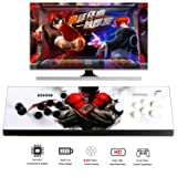 Easyget Arcade Game Console Ultra Slim Metal Double Stick - 815 Classic Video Games Machine - 2 Players Pandora's Box 4S Plus Arcade Joystick for Computer / Projector / Screen / TV HDMI VGA Output